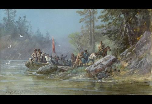 Первопроходцы в долине Чикоя