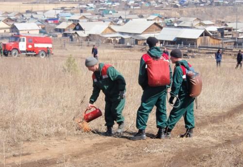 Проведение командно – штабного учения на территории села Красный Чикой