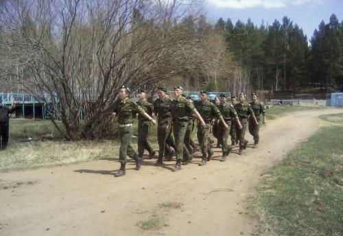 В Красночикойском районе прошли учебные сборы с учащимися общеобразовательных школ