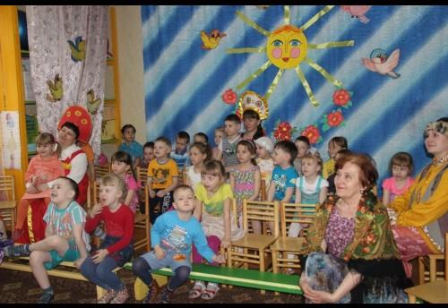 Сотрудники отдела народной культуры и этнографии приняли участие в проведении тематической недели по традиционной культуре в детском саду «Березка»