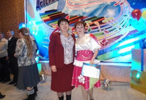 Юные таланты из Красного Чикоя приняли участие в юбилейном концерте