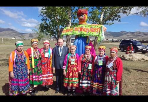 Ансамбль « Рябинушка» принял участие в фестивале фольклора старообрядческих художественных коллективов «Бичурские янтари»