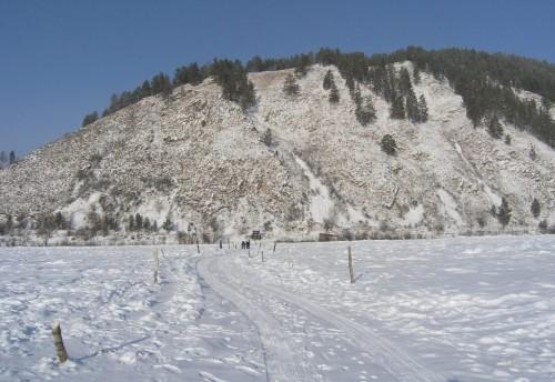 В Красночикойском районе открыли три ледовые переправы