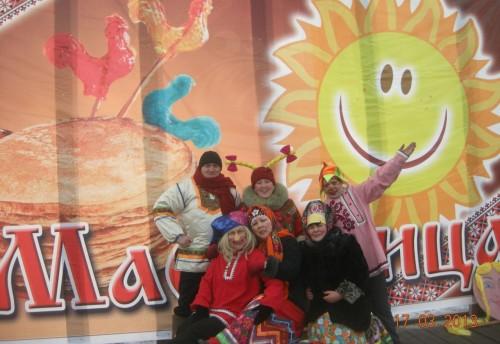 17 марта на площади  в селе Красный Чикой прошла, отшумела широкая Масленица.
