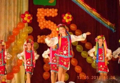 12 мая 2013 года хореографический ансамбль «Радость» Красночикойской детской школы искусств отметил свой 5 – летний юбилей.
