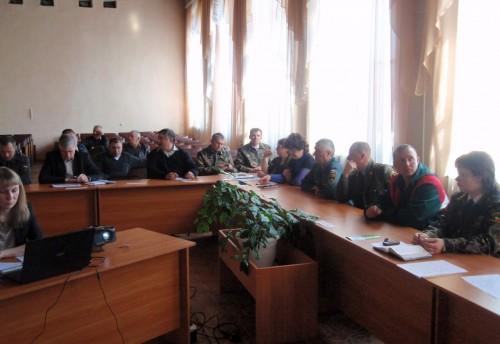 Состоялось заседание комиссии по предупреждению и ликвидации чрезвычайных ситуаций и обеспечению пожарной безопасности на территории Красночикойского района