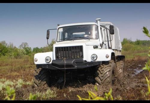 Нацпарк «Чикой» купил первый в районе вездеход «Сивер» за 3 млн руб.