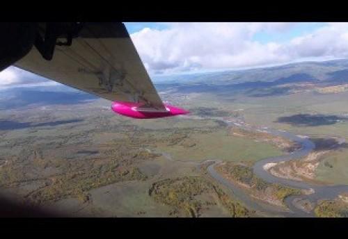 Взлет самолета в Красном Чикой