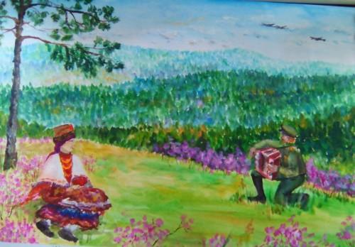 Прошел конкурс детских художественных работ «Я-забайкалец, мы-Забайкалье»