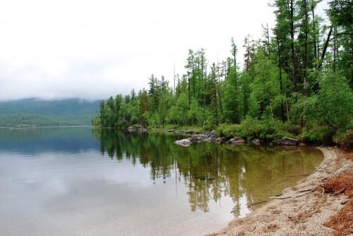 Высокогорное озеро Шебетуй - отличное место для экстремального туризма