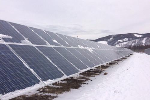 Солнечно-дизельную электростанцию запустили в селе Менза