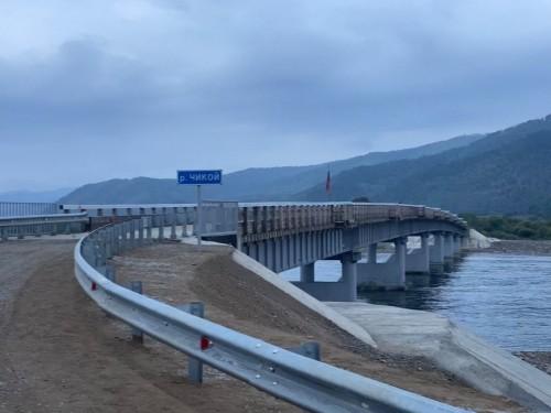 Построили новый мост через Чикой для жителей  Хилкотоя и Конкино