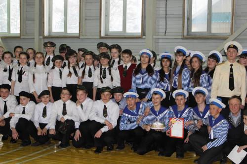 Парад песни и строя в честь Дня защитников Отечества