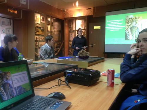 Национальный парк провел урок для студентов ЗабГУ