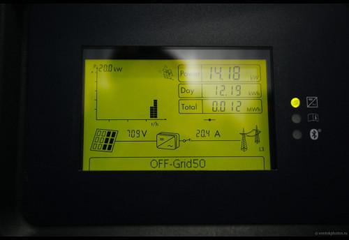 Открытие солнечной электростанции в Мензенском поселении Фото Чистопрудов Дмитрий. chistoprudov.livejournal.com